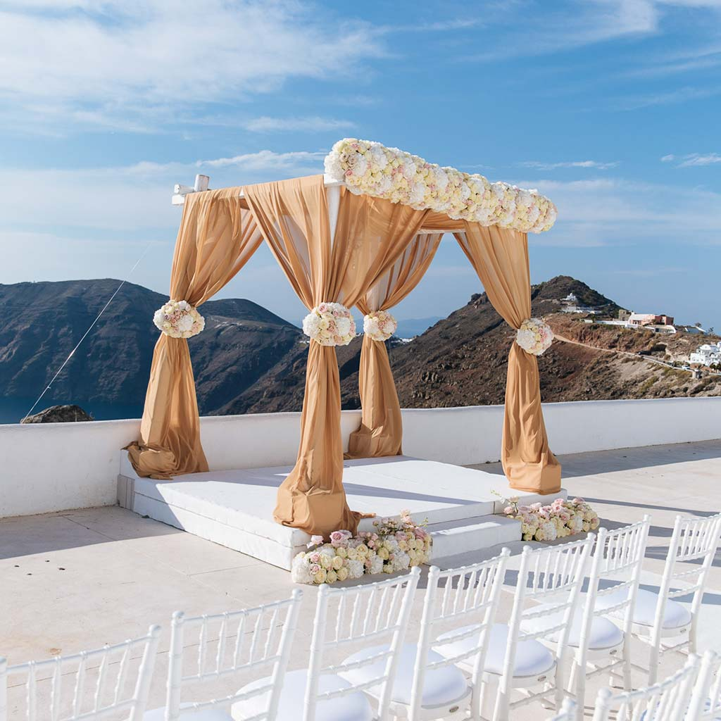 Infinity Kiosk Ceremony & Infinity Pool Reception